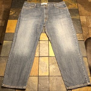 LIKE NEW Levi's 550 relaxed fit jeans size W46 L32